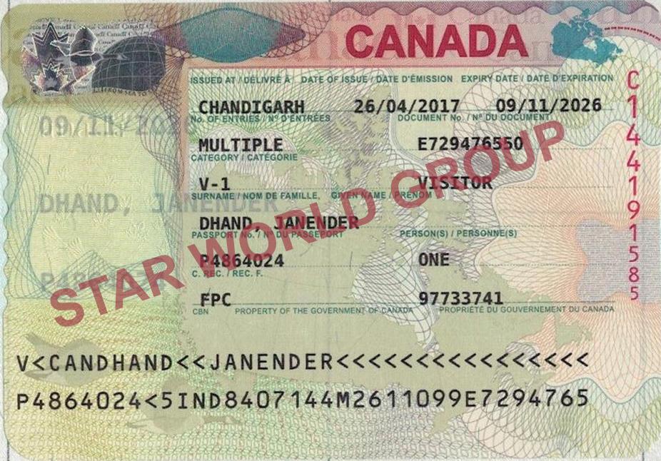 Janender Canada Visa