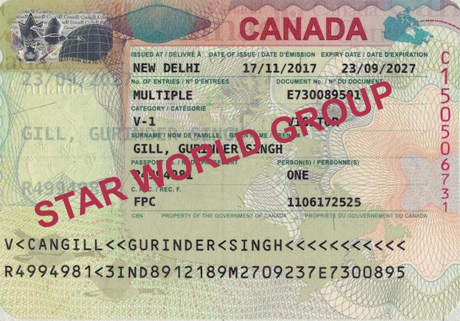GURINDER GILL VISA