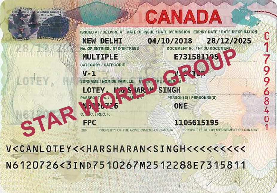 HARSHARAN LOTEY VISA