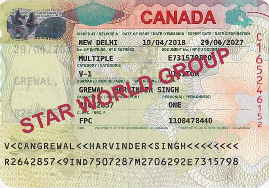 HARVINDER GREWAL VISA