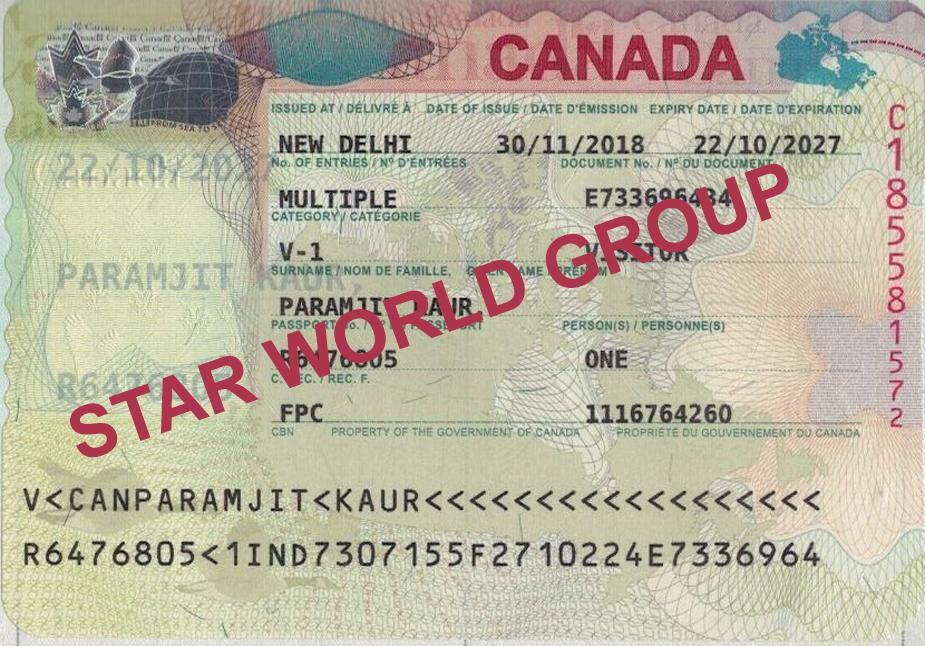 PARAMJIT CANADA VISA
